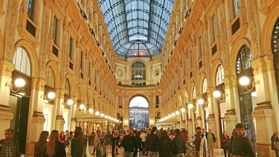 weekend a Milano: Galleria